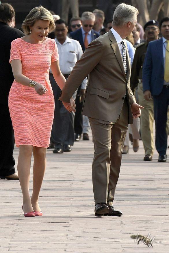 Королева Матильда с супругом королем Филиппом_1