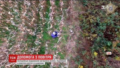 У Північній Кароліні на пошуки загубленої бабусі підняли квадрокоптер