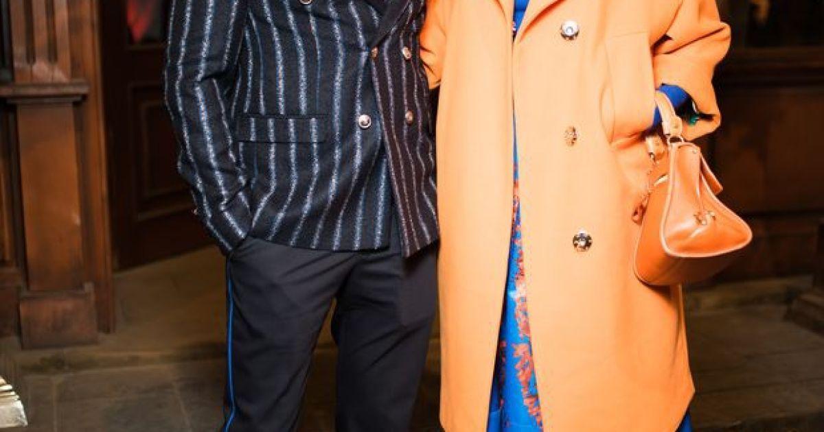 Андре Тан с женой @ jetsetter.ua