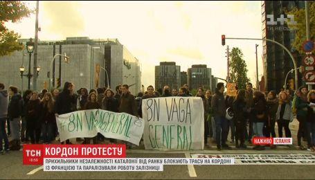В Каталонии вспыхнула новая волна протестов