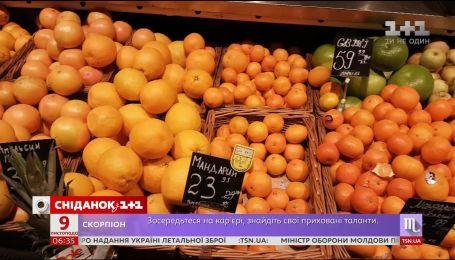 Турецкие мандарины будут продавать на рынках за полцены