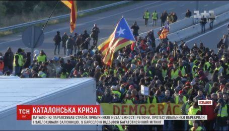 В Каталонии с новой силой вспыхнули протесты