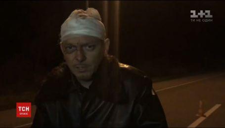 Безбожная езда. Пьяный священник на Ровенщине попал в аварию