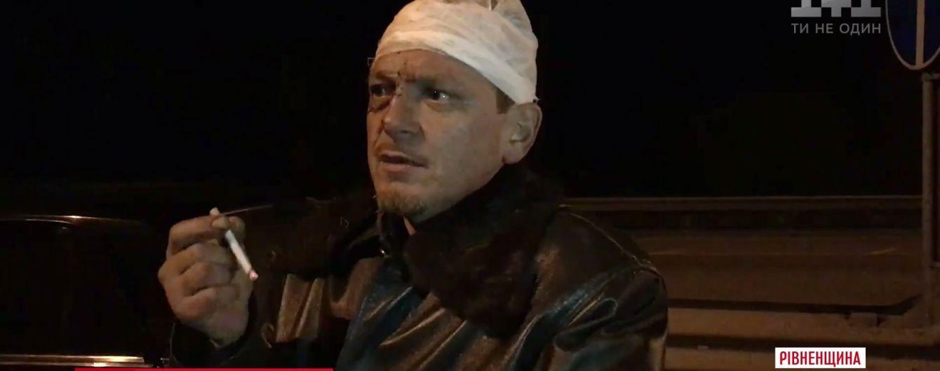 Пьяный священник спровоцировал крупное ДТП на трассе Киев-Чоп и обложил матом патрульных