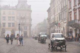 В пяти городах Украины загрязненность воздуха превысила норму