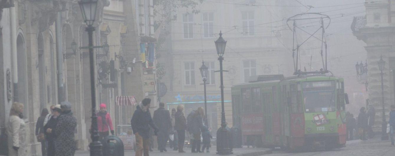 Синоптики предупреждают о сильном тумане. Прогноз погоды в Украине на 23 октября