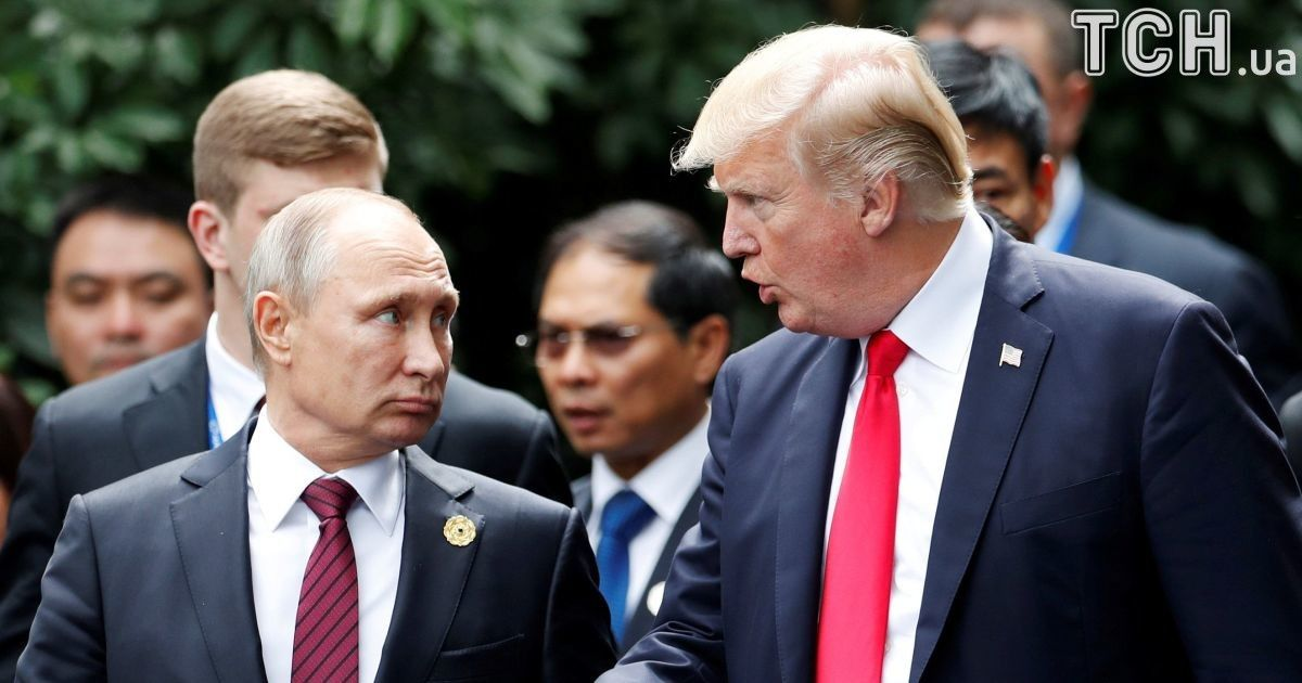"""""""Сімейне фото"""" і ряд спільних заяв. Трамп поспілкувався з Путіним у В'єтнамі"""