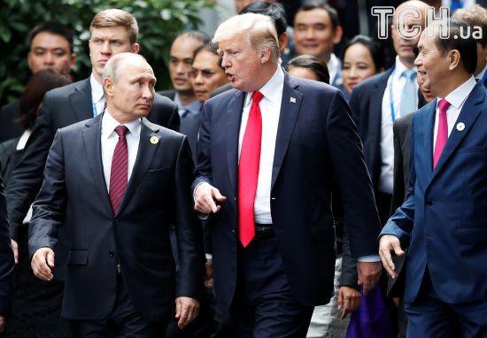 """Не можемо, щоб певні речі відбулися: Трамп зустрінеться з Путіним """"в належний час"""""""