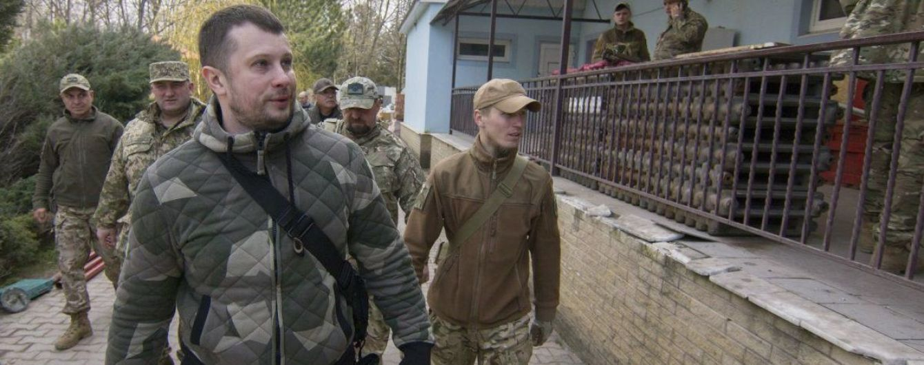 """Лидер """"Нацкорпуса"""" анонсировал новые акции и отрицал связь с Аваковым"""