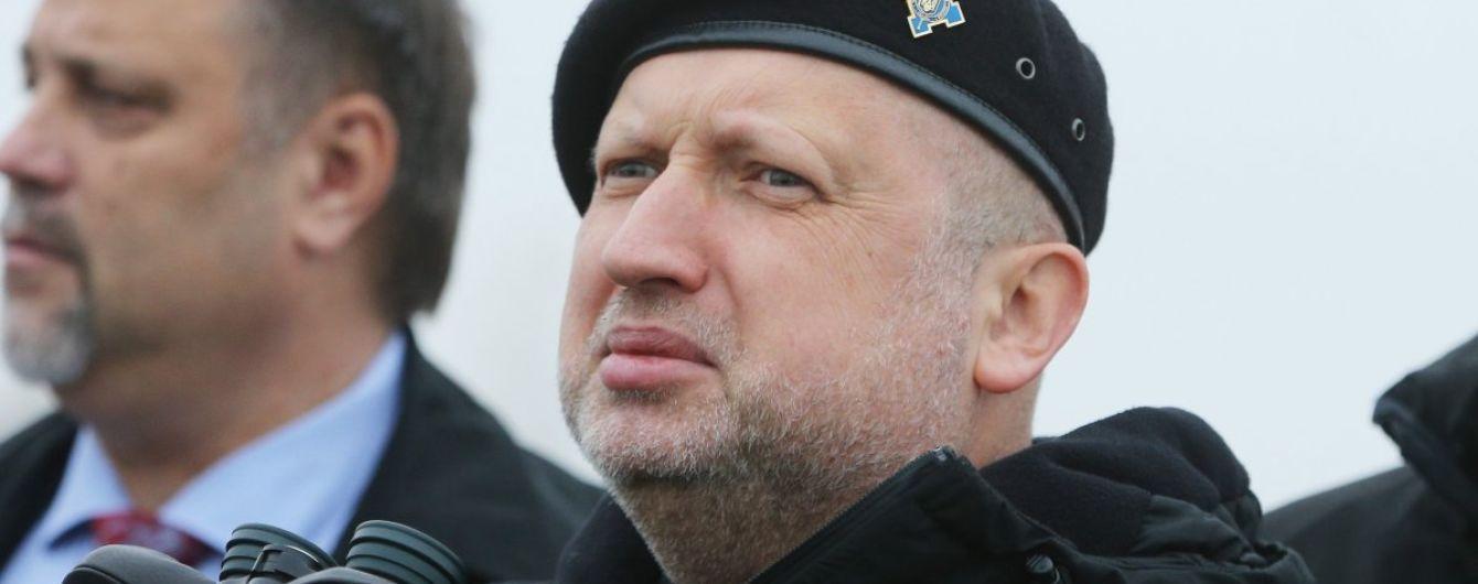 Турчинов різко відреагував на заяви Путіна про Донбас