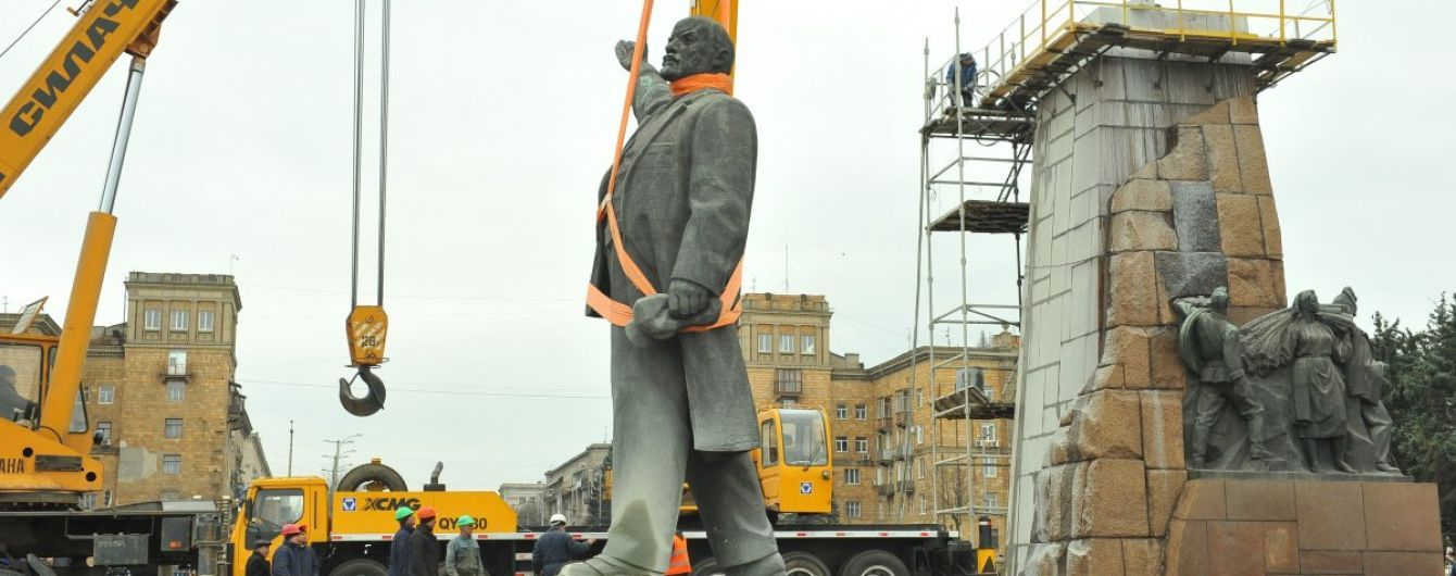 Більше 1000 демонтованих пам'ятників: Парубій підбив підсумки декомунізації