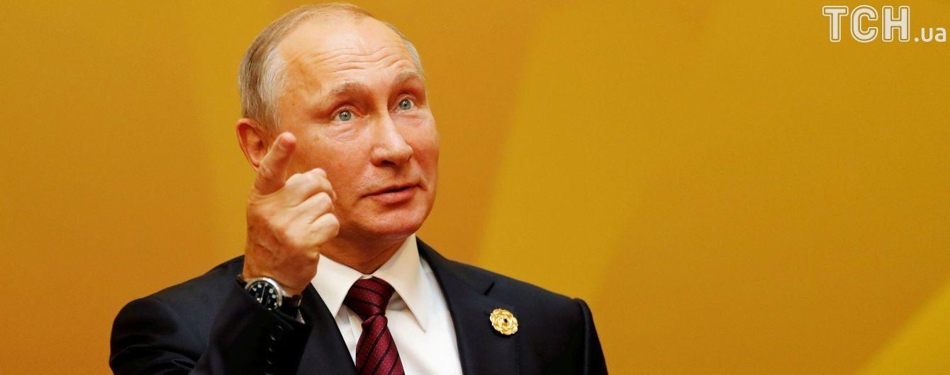 Путін запропонував українським військовим забрати кораблі з Криму