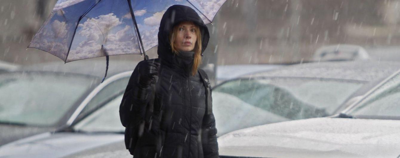 Україну накриє дощами, подекуди й з мокрим снігом. Прогноз на 14 березня