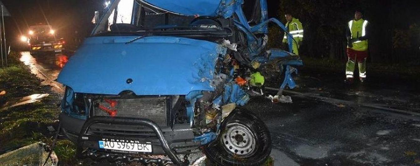 Після ДТП у Словаччині в лікарні помер ще один українець