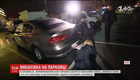 Шесть килограммов взрывчатки, которые накануне нашли в Киеве, были предназначены для теракта