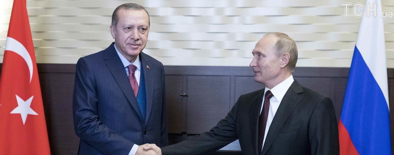 Путін переконує у відновленні відносин між Росією та Туреччиною