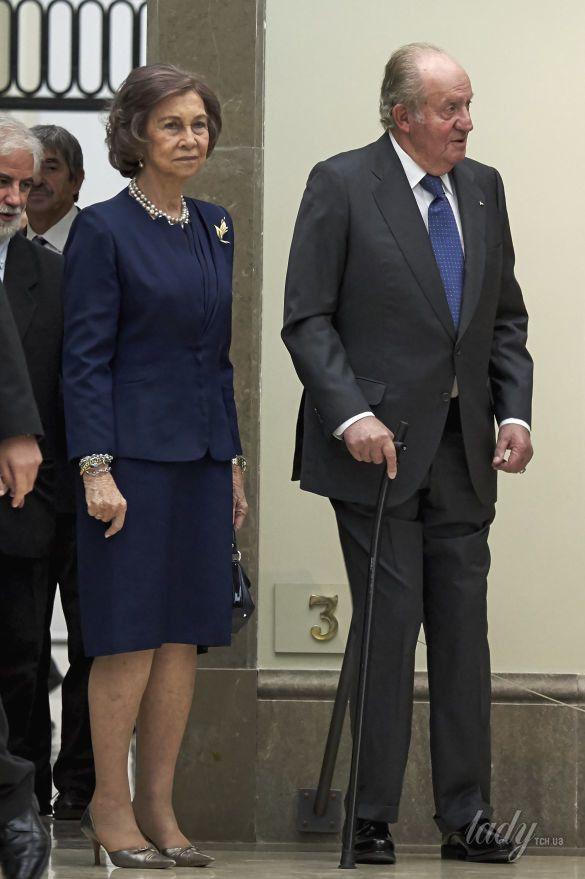 Королева София и король Хуан Карлос_1