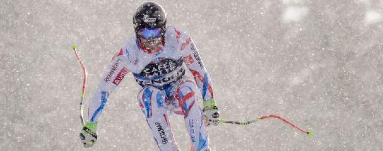 Французький гірськолижник трагічно загинув під час тренування