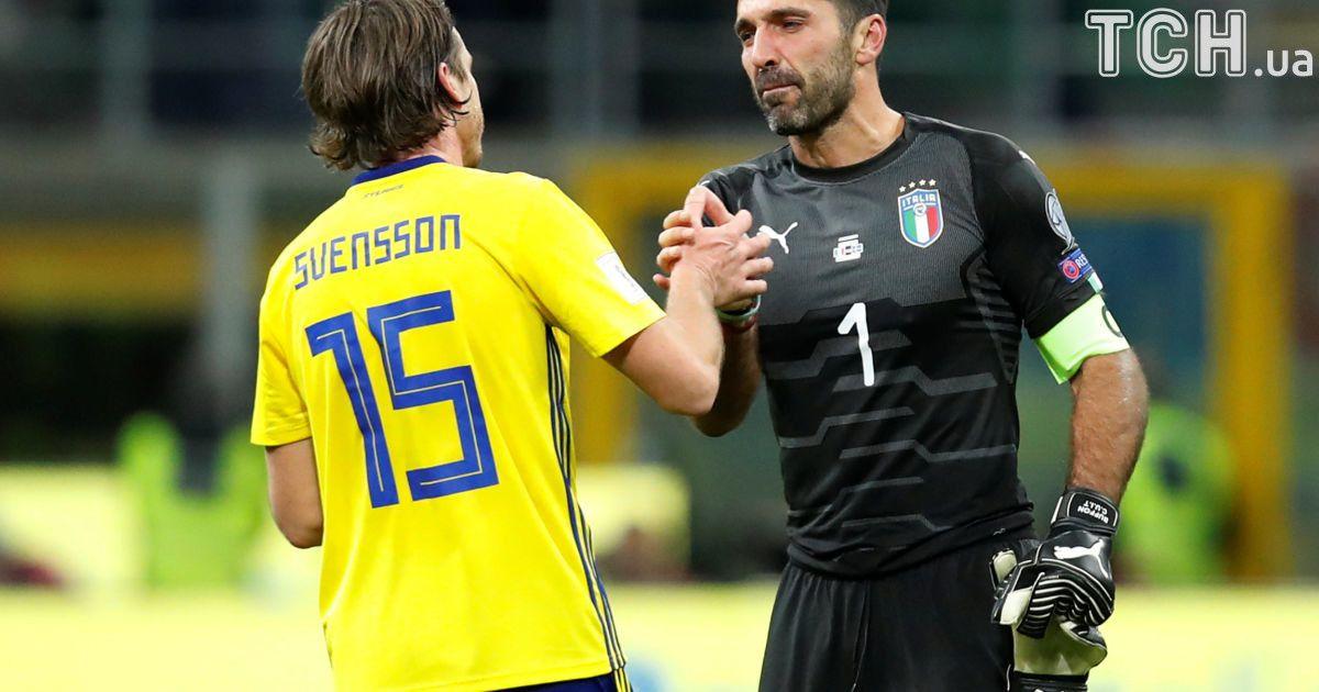 Сборная Италии не смогла обыграть Швецию в стыковых матчах ЧМ-2018 и пропустит Мундиаль @ Reuters