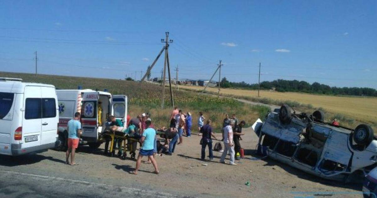 ДТП с погибшими детьми на Запорожье: полиция задержала водителя грузов