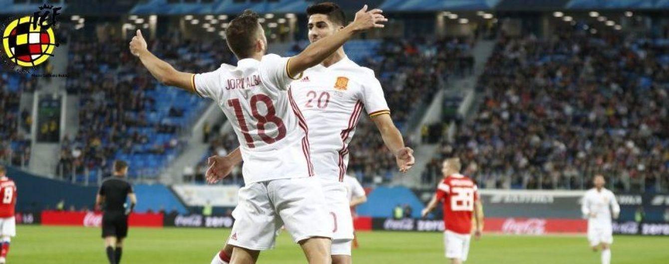 Збірна Іспанії не втримала перемогу над Росією у товариському матчі