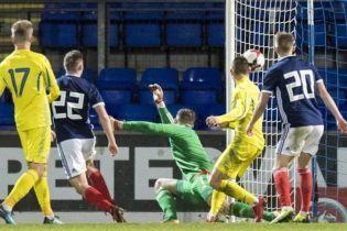 Молодіжна збірна України перемогла Шотландію і зберегла шанс на вихід на Євро-2019