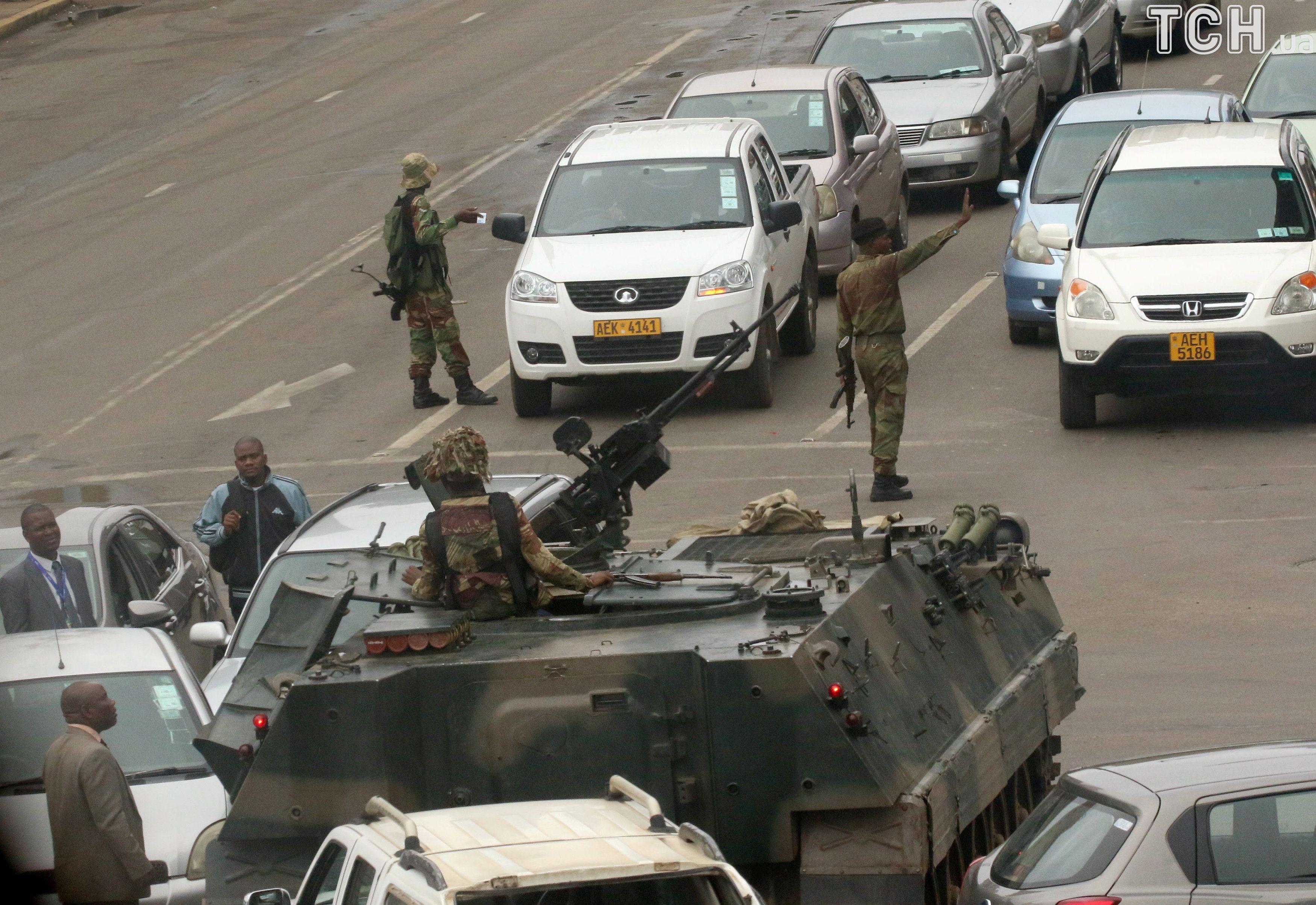 зімбабве, переворот