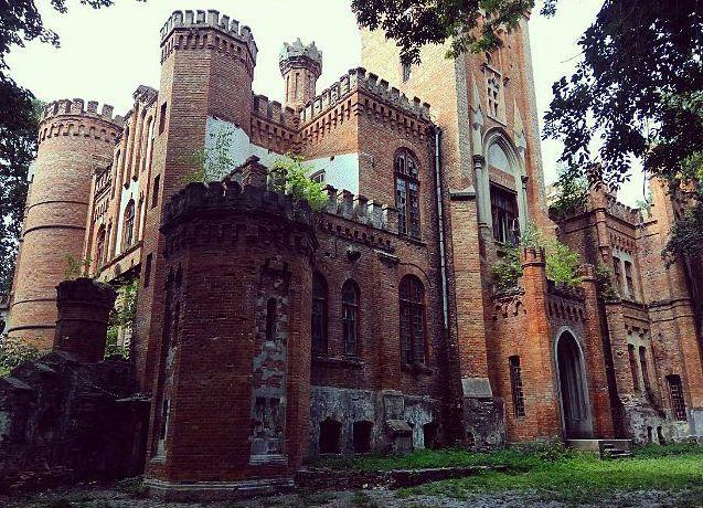 Палац Даховських, село Леськове