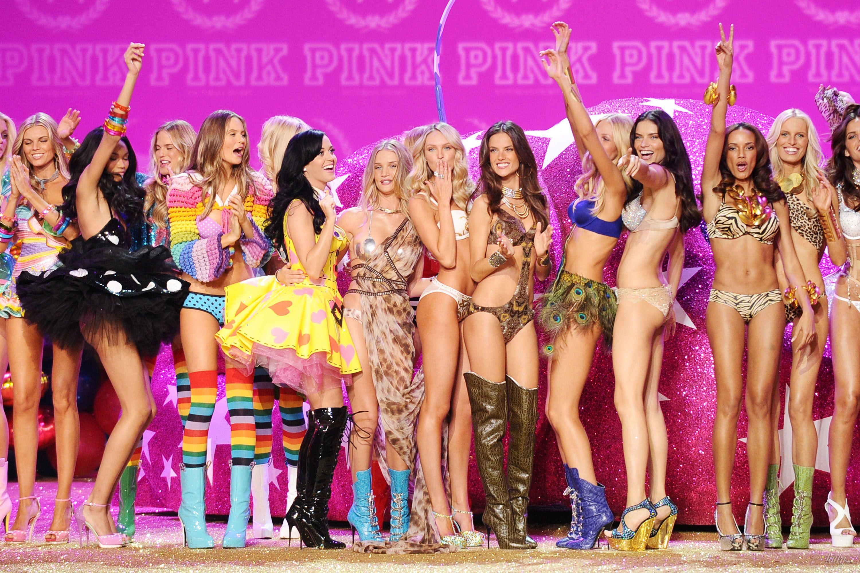 Кэти Перри и ангелы Victoria's Secret