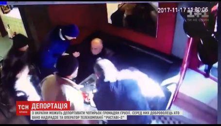 Из Украины депортируют четырех граждан Грузии