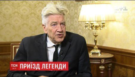 Девід Лінч виказав захоплення ветеранам війни на Донбасі