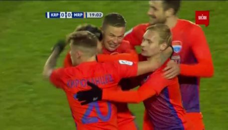 Карпаты - Мариуполь - 0:1. Видео гола Болбата