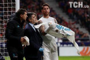 """Капітан """"Реала"""" отримав перелом носа у супердербі"""