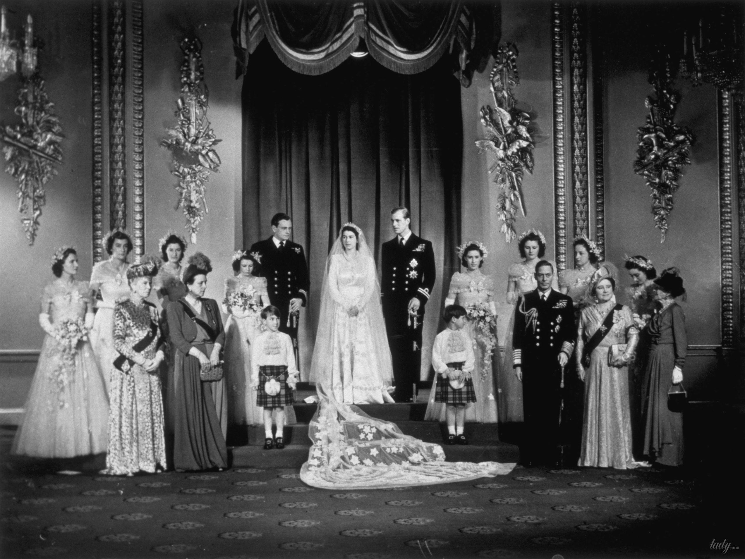 Свадьба королевы Елизаветы II и принца Филиппа_4