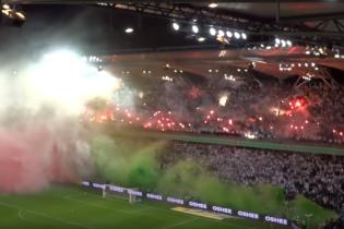 Фанаты польского клуба устроили невероятный перфоманс на игре чемпионата