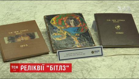 Возвращение музыкальных реликвий. Немецкая полиция нашла пропавшие личные вещи Джона Леннона