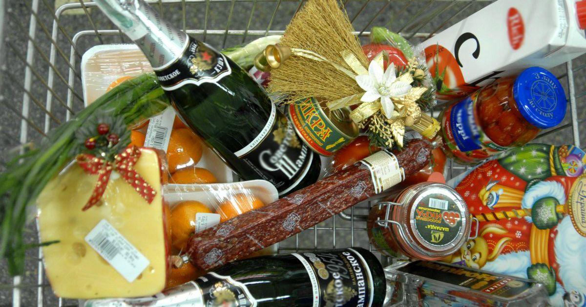 Украинцы начали закупаться к новогоднему столу. Что будет с ценами на продукты перед праздниками