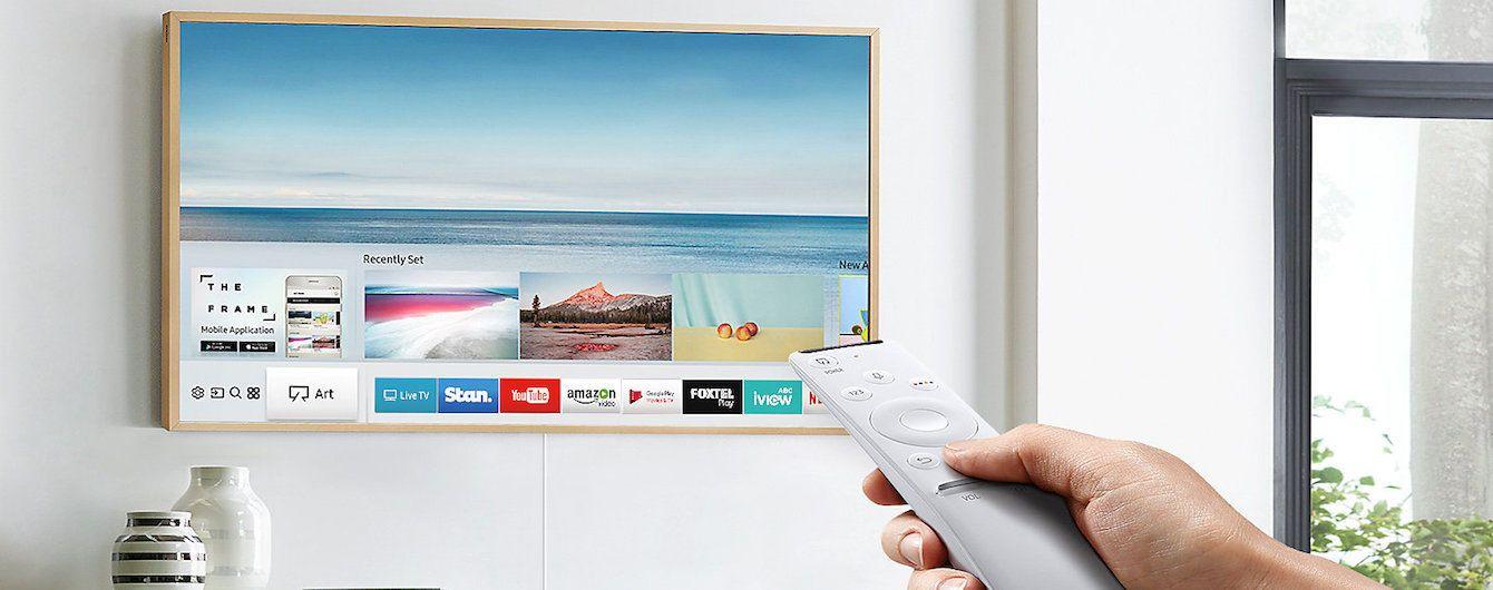 Нововведення Samsung: інтер'єрний ТВ The Frame