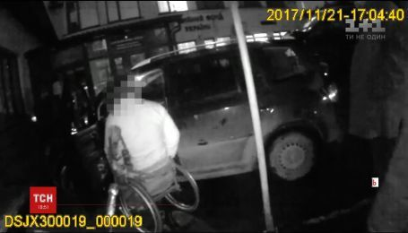 Депутат на інвалідному візку побив двох поліцейських у Тернополі