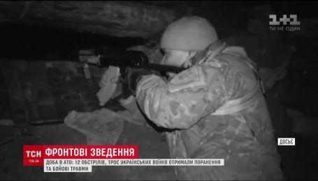 Фронтовые сводки: двое военных получили ранения на передовой