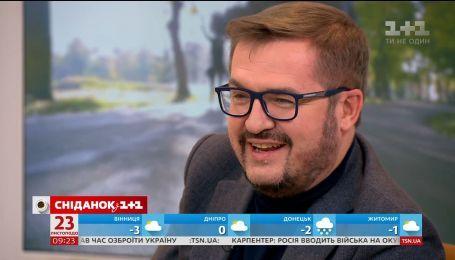"""Олександр Пономарьов в  гостях у """"Сніданку з 1+1"""""""