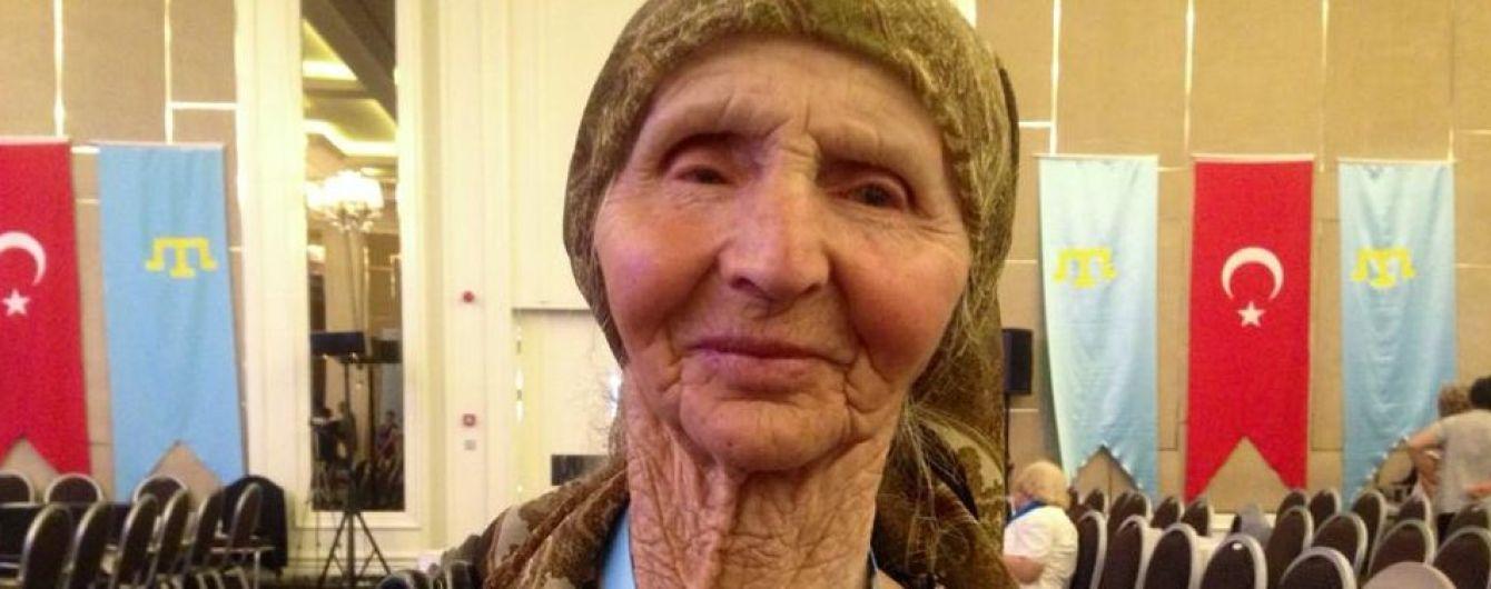 В Крыму после попытки задержания оккупантами умерла ветеран крымскотатарского движения Веджие Кашка