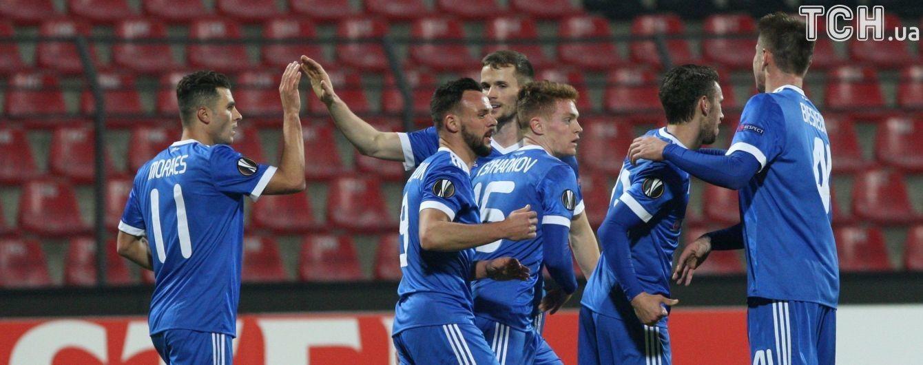 Лига Европы. Кто вышел в 1/16 финала