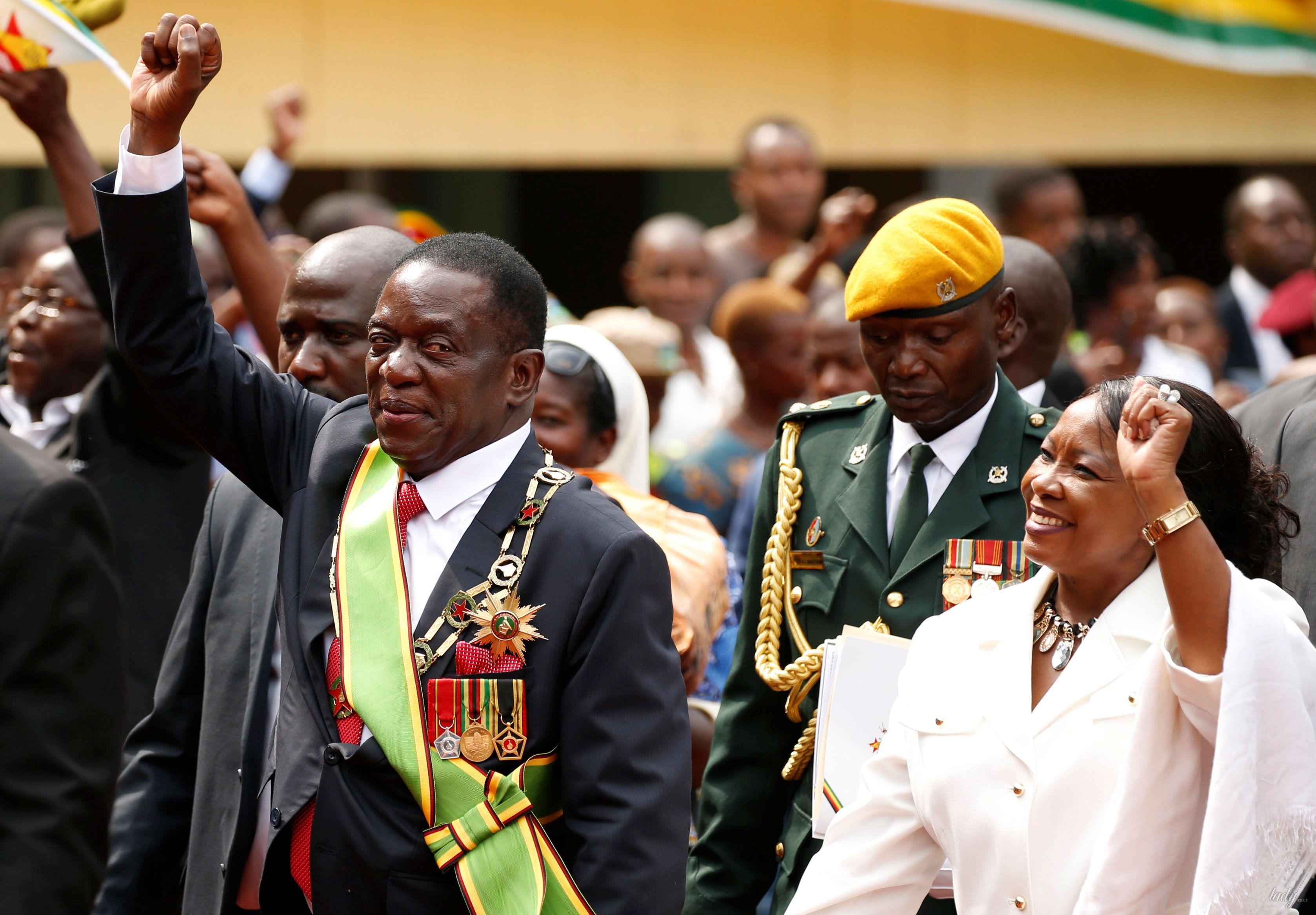 Первая леди Зимбабве Оксилия Мнангагва _1