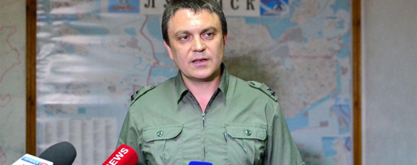 Боевики подтвердили отставку Плотницкого и назначения нового главаря