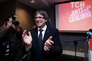 Лидер каталонских сепаратистов Пучдемон победил на выборах в Европарламент