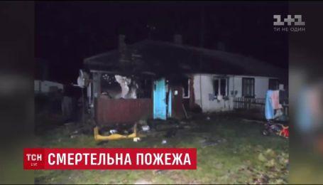 Двое детей погибли в пожаре на Ровенщине