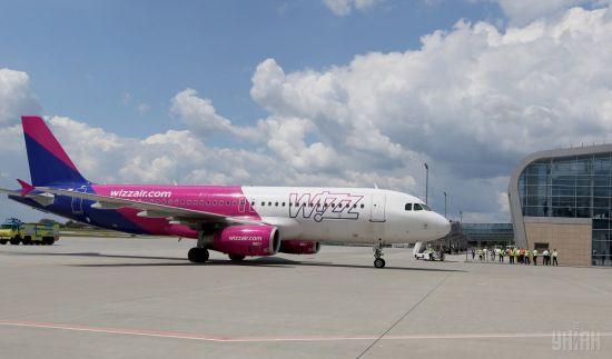Wizz Air відкрила рейс з Києва до ще одного європейського міста
