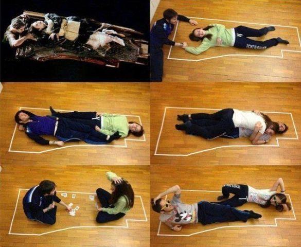 """Інструкція з лежання на двері """"Титанік"""""""