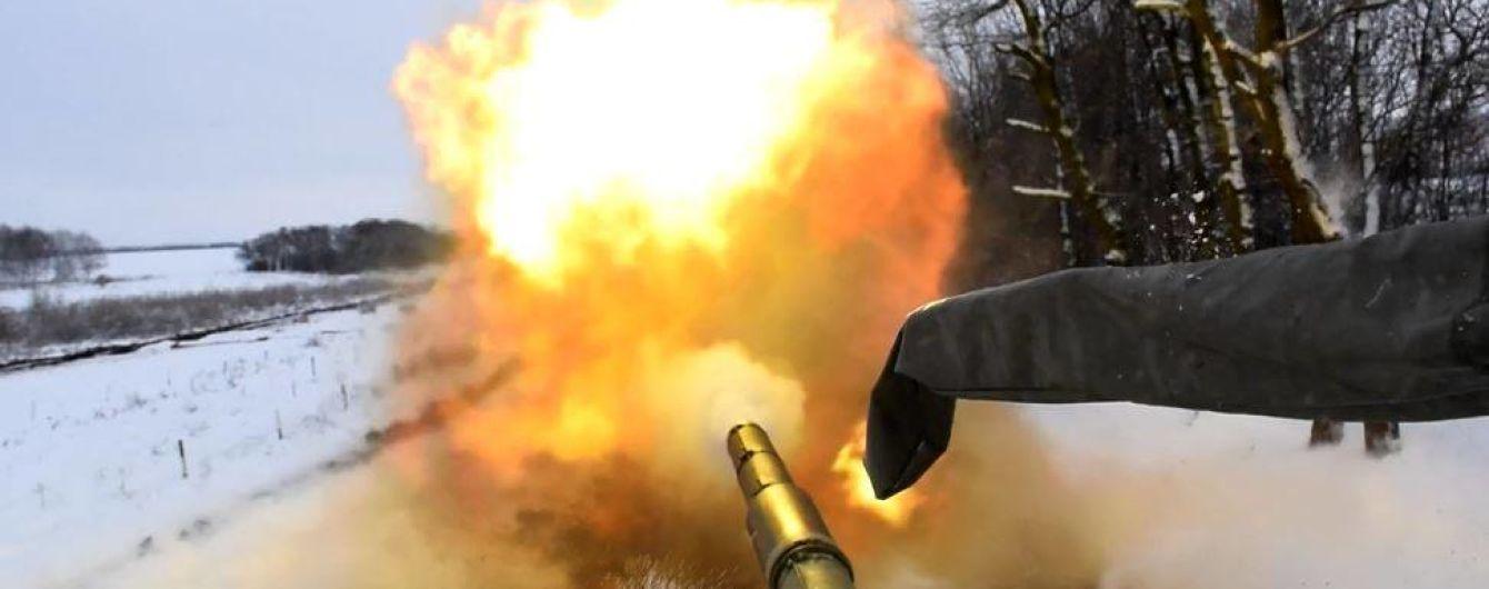 Боевики снова били из танков. Хроника АТО